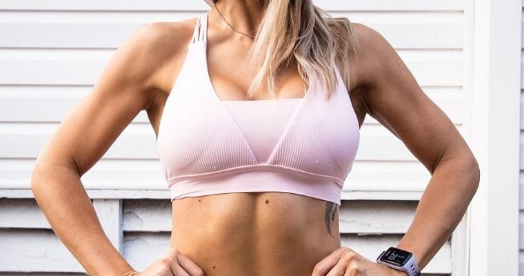 strój do ćwiczeń siłownia