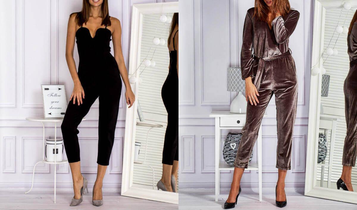 Kombinezon - modny strój jednoczęściowy
