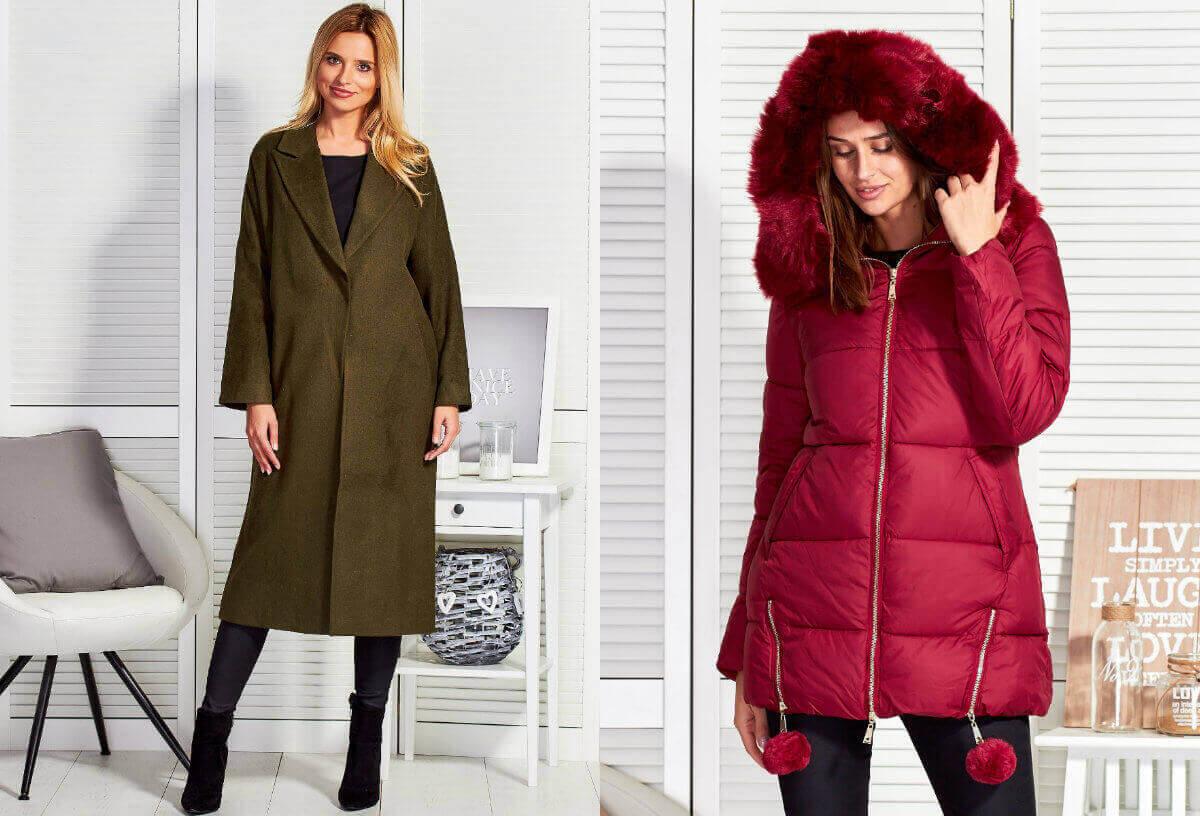 Płaszcz zimowy damski