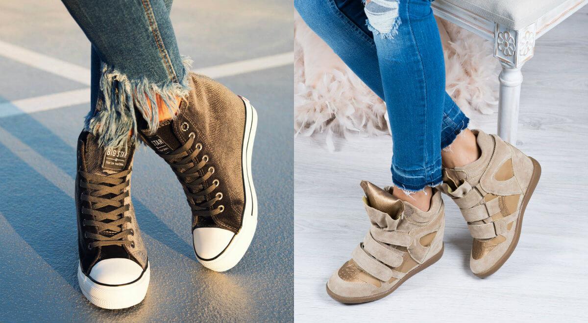 Sneakersy damskie na jesień i zimę