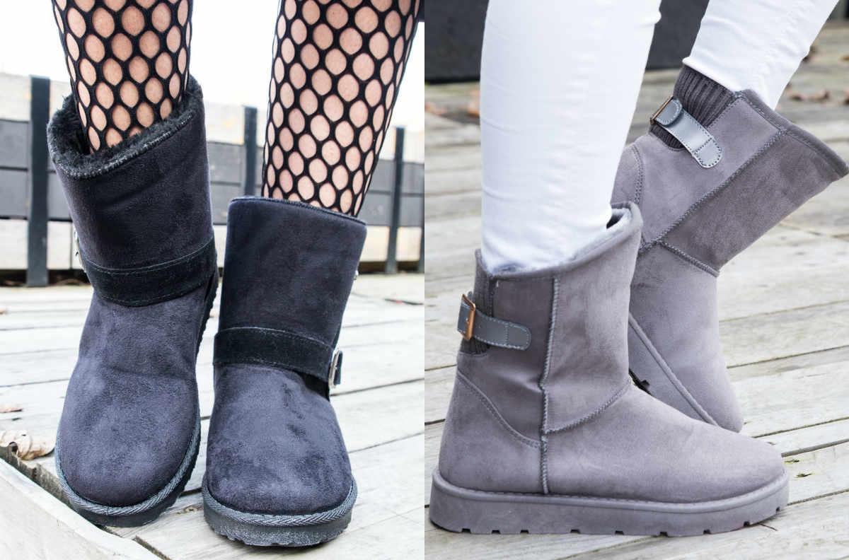 Śniegowce damskie - buty zimowe