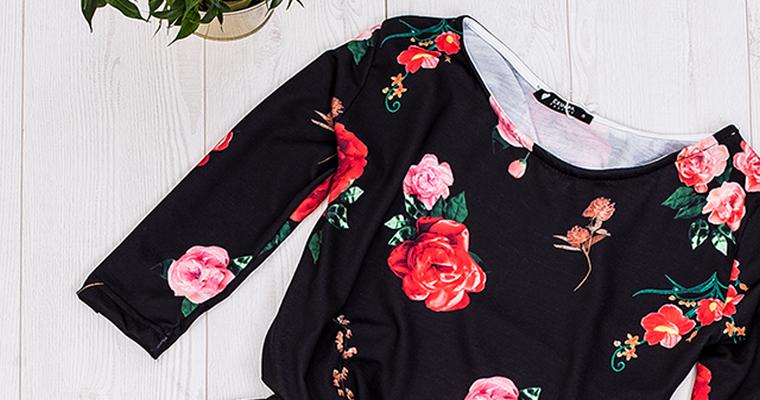 f9f9066d86 Ubrania w kwiaty – musisz je mieć - blog Factoryprice