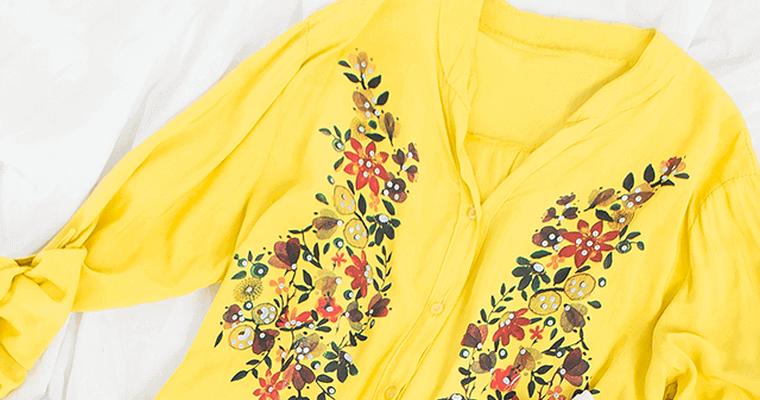 da178f53db Modne ubrania w kwiaty to hit sezonu - blog Factoryprice