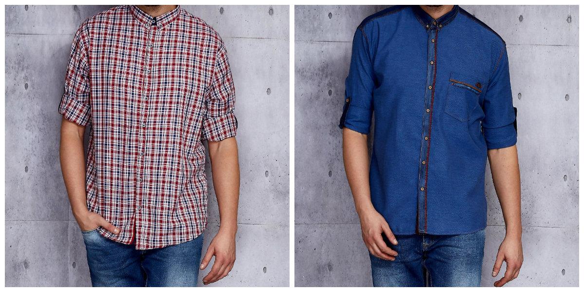 stylowe koszule męskie
